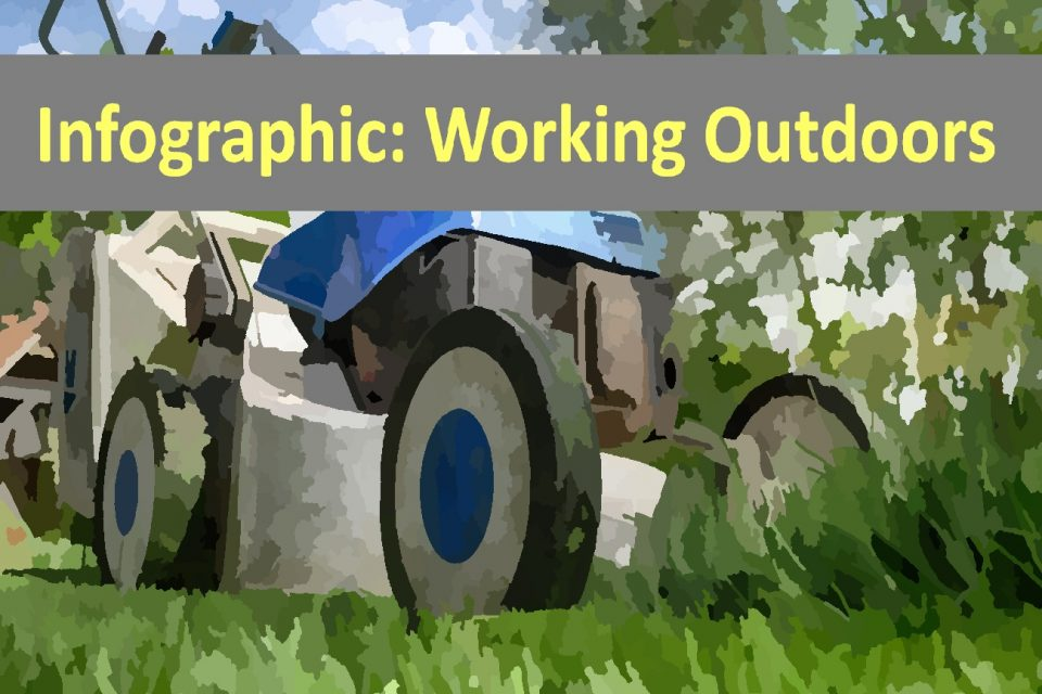 Infographic: Working Outdoors