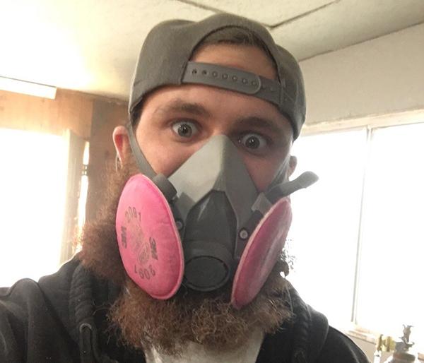 Beards Don't Filter the Coronavirus